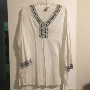 AZ Embroidered Tunic